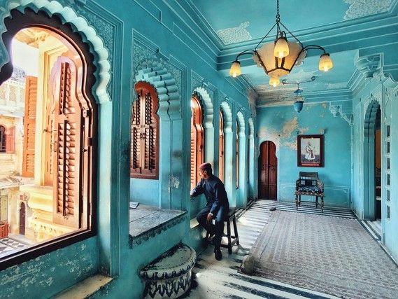 """""""Fotografo dell'anno"""": terzo posto per la foto di Kuanglong Zhang, Cina, scattata al City Palace di Udaipur con un iPhone 7"""