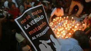 Image copyright                  AFP                  Image caption                     El cuerpo de la periodista Anabel Flores fue hallado un día después de haber sido secuestrada.    Veracruz suma otro caso a la lista de periodistas asesinados en los últimos años. No hay estado más peligroso para los reporteros en México. El cadáver de Anabel Flores Salazar, secuestrada en la madrugada del lunes en esa entidad, fue encontrado este martes en el vec