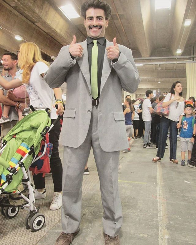 aefc973f6d3 Pin by SheCos Blog - Cosplay & Costume Ideas on Borat Cosplay | Suit  jacket, Jackets, Suits