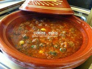 Tajine de viande Hachée - Kefta - Cuisine du Maroc