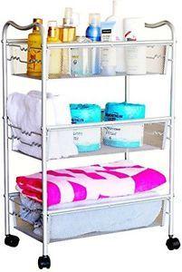 Rolling-Utility-Cart-Home-Office-Laundry-Kitchen-Bathroom-File-Storage-3-Shelf