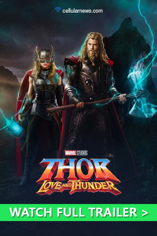 Watch Full Cinematic Trailer Of Thor Love And Thunder Here In 2020 Movies By Genre Cinematic Trailer Comic Movies
