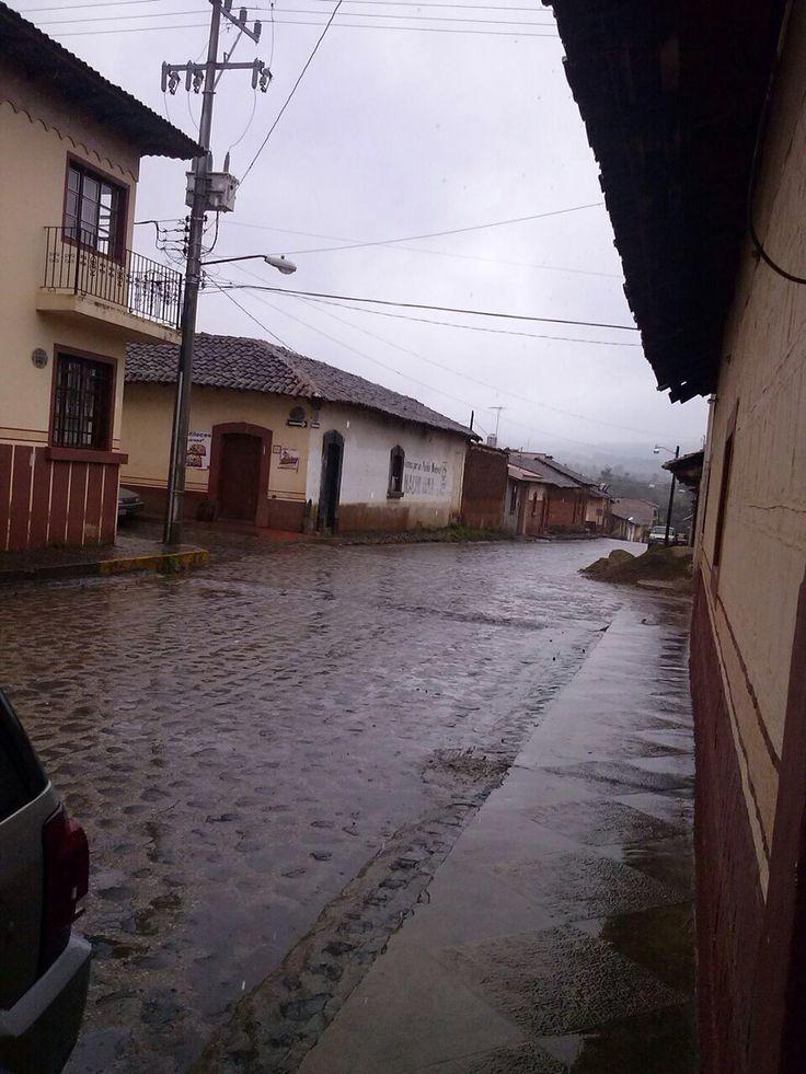 Un tarde lluviosa en mi querido Pueblo Nuevo