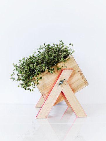 Mini Planter Box - Fluro Pink