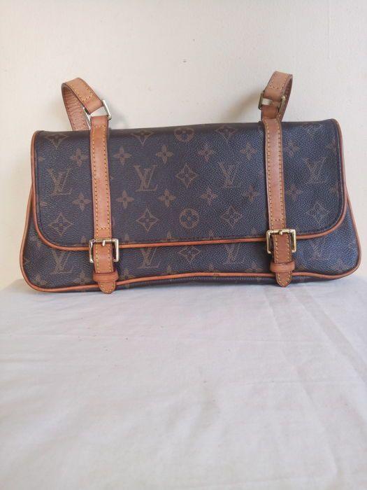 En ce moment aux enchères  Catawiki  Louis Vuitton - Marelle MM Handbag 47dcdbe1e71