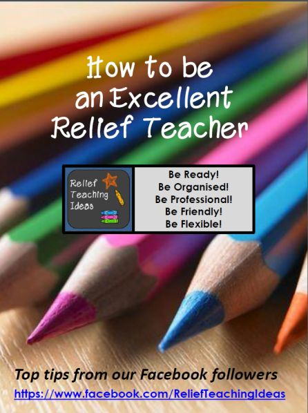Tips on how to be a successful relief /substitute teacher.