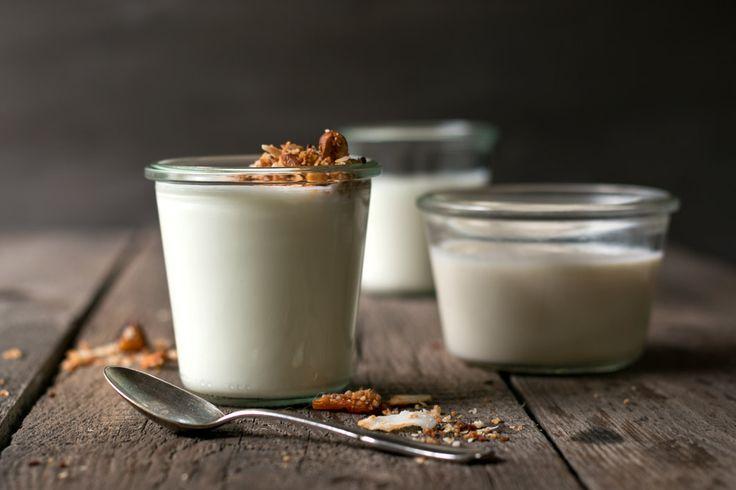 Selbstgemachter Joghurt aus Kokosmilch | Foodlovin'