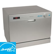 Portable Dishwashers & Compact Dishwashers - Haier & Danby Countertop Dishwasher Sale