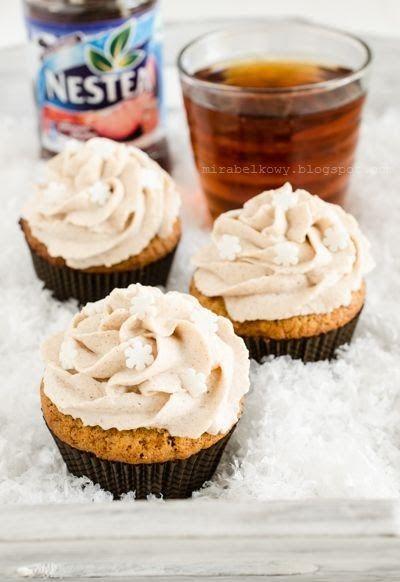 Herbata, śliwki, cynamon i miód – to smaki, które stały się inspiracją i podstawą do stworzenia przepysznych babeczek na konkurs Nestea Zim...