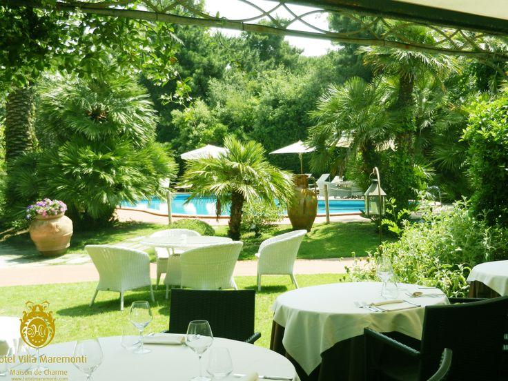 #Ristorante La Marea Hotel Villa Maremonti Ronchi between Marina di Massa and Forte dei Marmi #fortedeimarmi #luxury #tuscanyholiday #boutiquehotels #vacanze #versilia #toscanafoodwine #villamaremonti