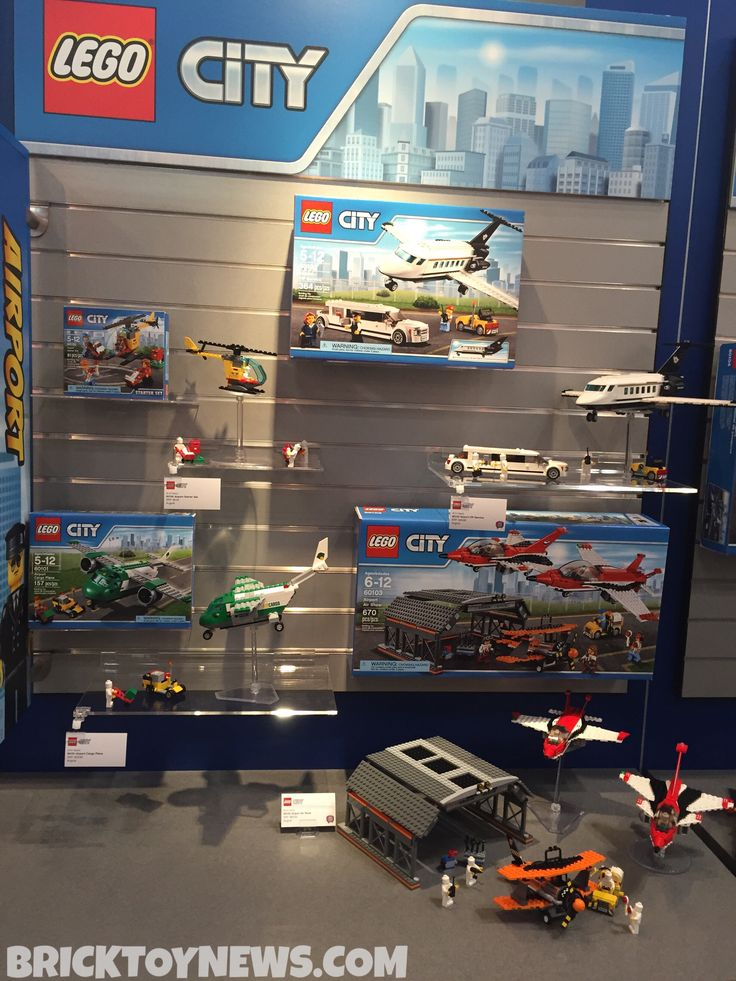 Toy Fair 2016 LEGO City Airport Summer 2016 Sets Photos! - Brick Toy News