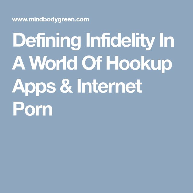 Hookup Relationships And Infidelity Attitudes And Behaviors