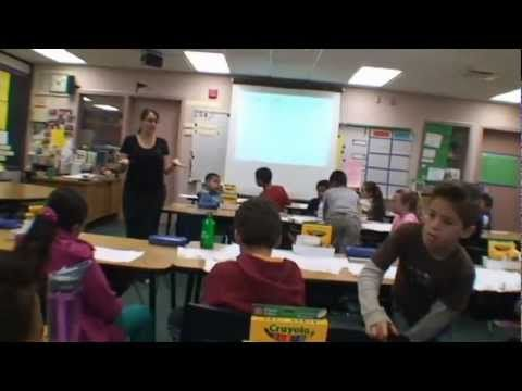 In this video, a group of 4th grade students closely read a text about toy inventors, discussing their ideas with their peers.  Their teacher models her thinking on some tricky parts, asks text-dependent questions, and guides their annotation and writing.