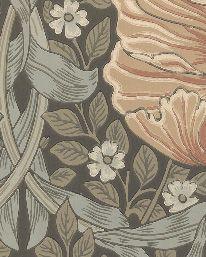 Tapet Pimpernel Bayleaf/Manilla från William Morris & Co