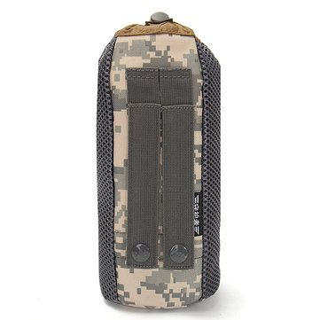 Outdoor Camping Molle Water Bottle Pouch Kettle Bag Pack Carrier Holder Sale - Banggood.com