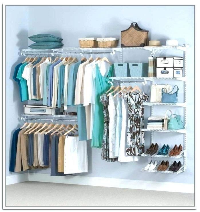 Diy Bedroom Clothing Storage Ideas In 2020 Rubbermaid Closet