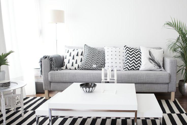 Fikk Nytt Uttrykk Med Den Nye Karlstad Sofaen Isunda Gra Tekstil