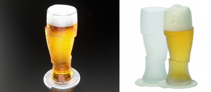 Sliced Cold Beer Glasses (2)