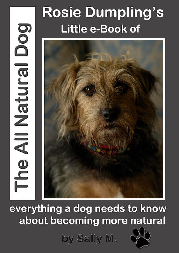 The All Natural Dog E-book  instant download. by TheBlissfulPixie