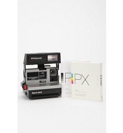 Vintage Polaroid 600 Camera Kit / Impossible Project