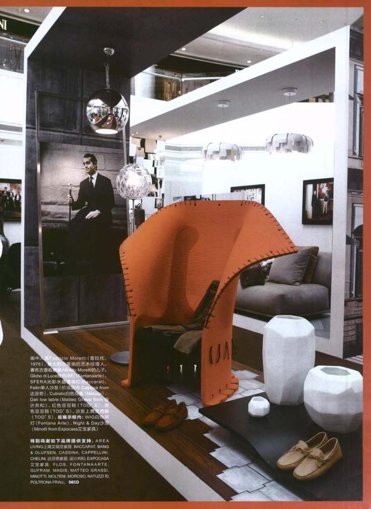 ELLE DECORATION CHINA - FELTRI, design Gaetano Pesce
