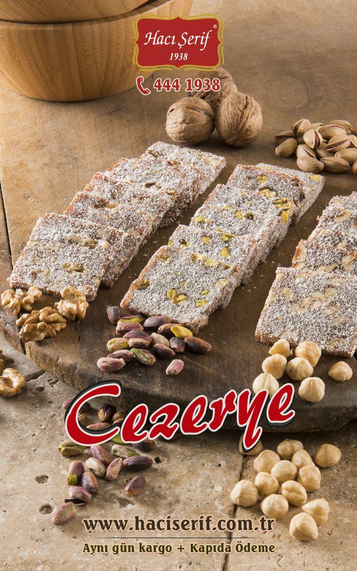 #cezerye #fındık #ceviz #anepfıstığı #hacışerif #haciserif #4441938 #delicious  www.haciserif.com.tr/cezeryeler