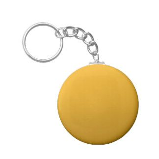 Gold Blank TEMPLATE : Add text, image, fill color Basic Round Button Keychain