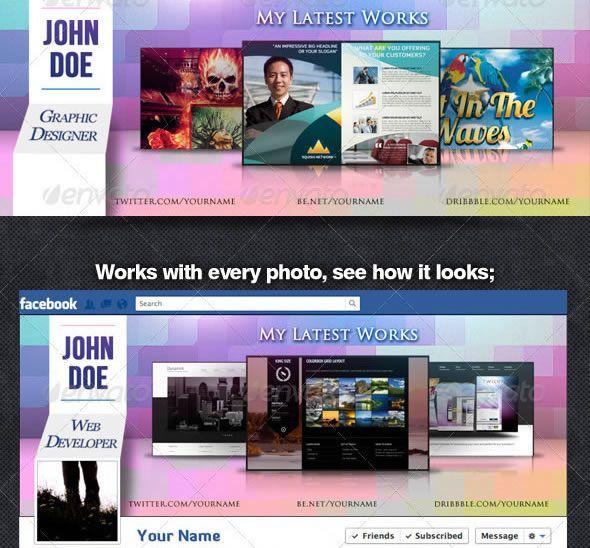 Designer / Developer Facebook Timeline Cover