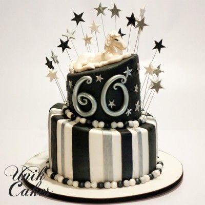 Decoracion de cake 60 a os buscar con google ideas - Decoracion cumpleanos adultos 60 anos ...