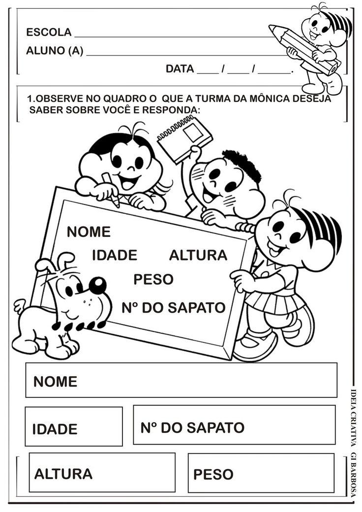 sugestões de atividades para trabalhar o nome na educação infantil - Pesquisa…