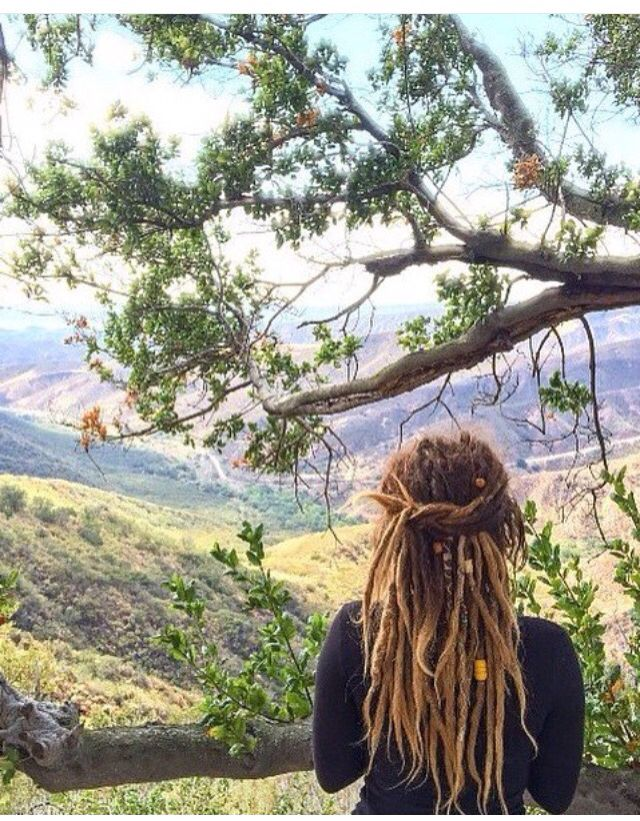 #womenwithdreads beautiful nature photo too! #myhippyhome
