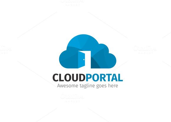 Cloud Portal Logo by @Graphicsauthor