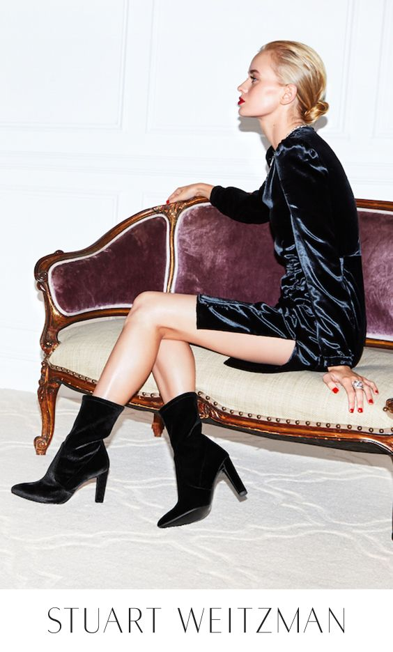 Click to shop the Holiday Edit, and kick off party season in the chicest after-dark essentials, from velvet over-the-knee boots to glitter-encrusted booties to metallic block heel sandals to strappy stilettos. Celebrate the season in designer shoes handcrafted by expert shoemakers for the ultimate in style, luxury and comfort: Get inspired and be the most fabulous at any festive fête.