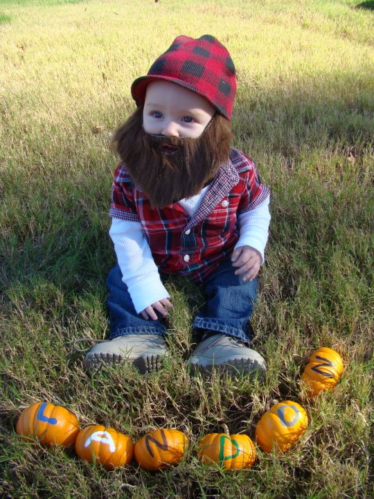 Little Lumberjack! A favorite from a previous Halloween Baby Photo Contest - Mom365