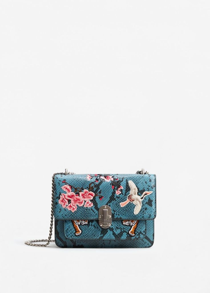 Chain patched bag | MANGO