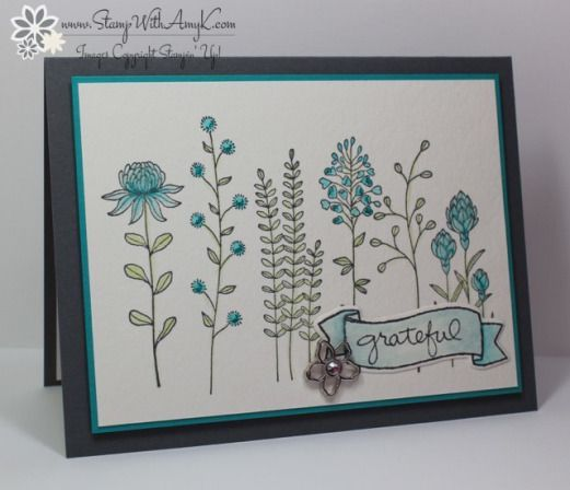 online outlet stores australia SU  Flowering Fields stamp set   Stamp With Amy K
