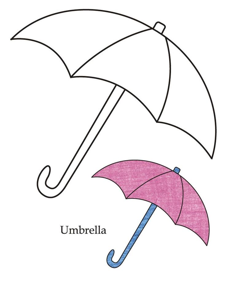 0 Level umbrella coloring page | Download Free 0 Level umbrella ...