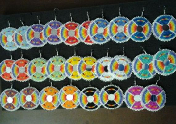 14 Pair Earrings Native American Powwow Beadwork – eBay Find of the Week