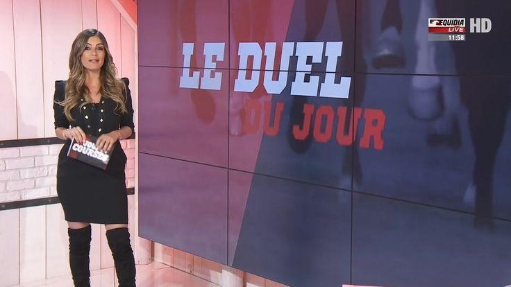 Amelie Bitoun French Presenter Overknees 12 4 2017