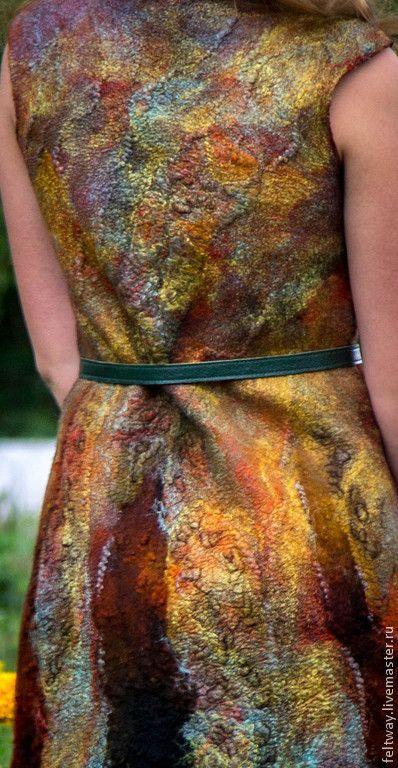 """Платья ручной работы. Ярмарка Мастеров - ручная работа Платье """"Кружатся листья"""". Handmade."""