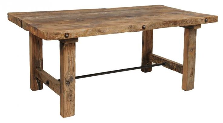 plank board dining table