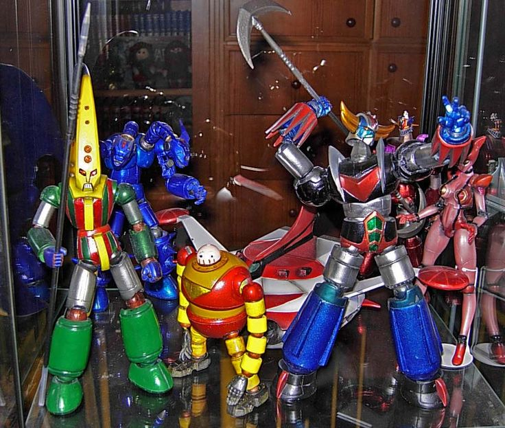 GRENDIZER & GOZU GOZU ENEMY CUSTOM BUILD by anavelgatoh
