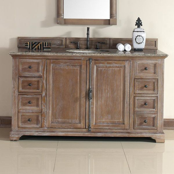 12 best images about distressed bathroom vanities on - Black distressed bathroom vanity ...