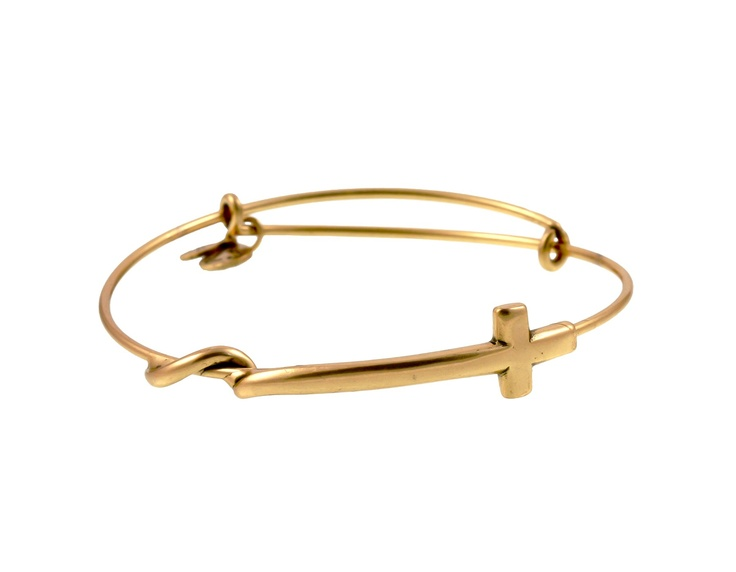 Gold cross Alex and Ani <3 <3 <3
