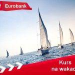 Kredyt wakacyjny Eurobankzajął 4 miejsce w Naszym rankingu kredytów wakacyjnych dla kredytów w kwocie 3000 zł i wysokie 2 miejsce dla kredytów w wysokości 6000 zł. Ma on jednak w pewnej kwestii przewagę nawet nad liderem rankingu. Chodzi mianowicie o minimalny dochód wymagany do