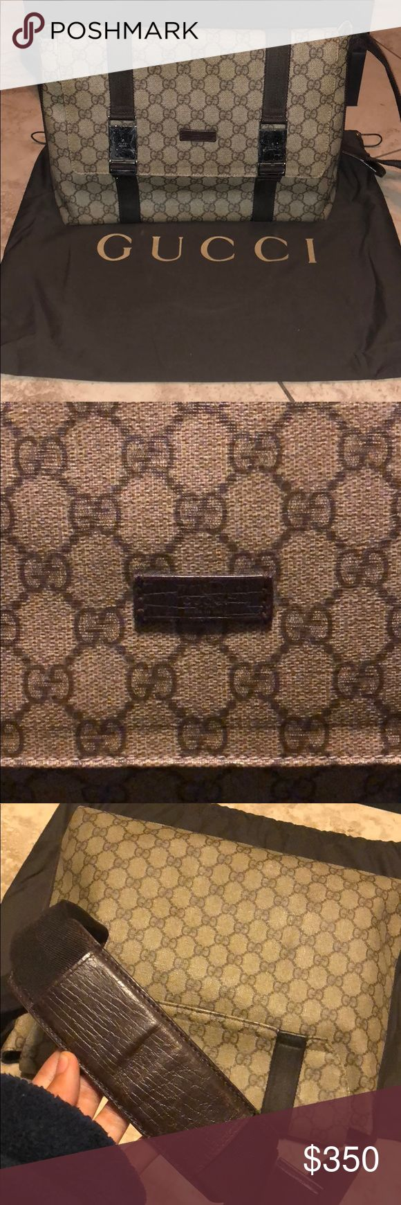 Gucci messenger bag Dust bag included, authentic and in good used condition Gucci Bags