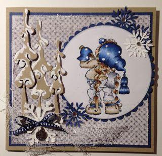 Kirstens Hobbyblogg: Blå jul...