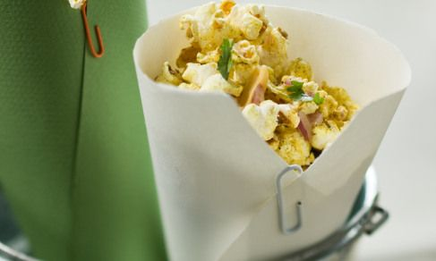 popcorn - India style. With spices.