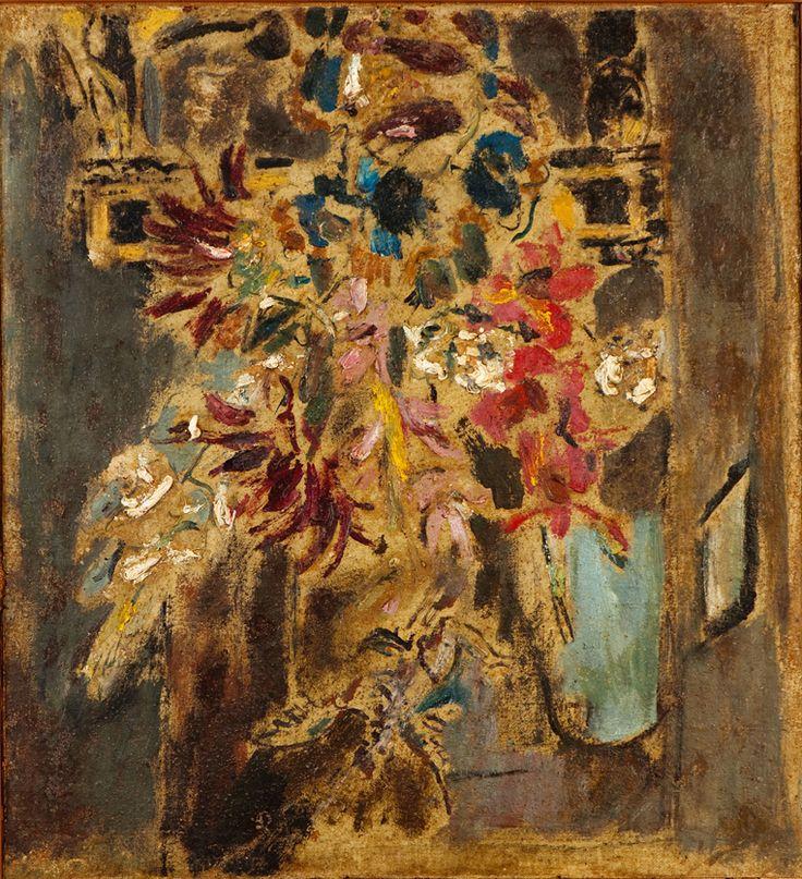 Flores com Anjo - Filippo de Pisis - s.d.