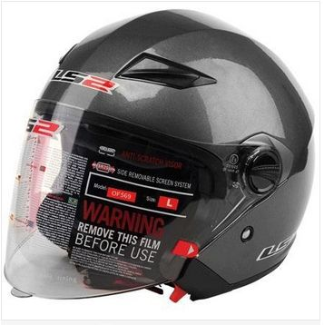 69.77$  Buy here - http://alii9c.worldwells.pw/go.php?t=32380298657 - Professional Urban Open Face Motorcycle Helmet, with Controable Internal Black Sunglass,DOT, ECE Approved LS2 OF 569 ,capacete 69.77$